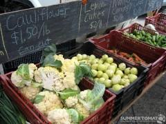 Cauliflower and Cucumber
