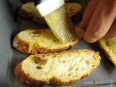 Olive Oil on Baguette