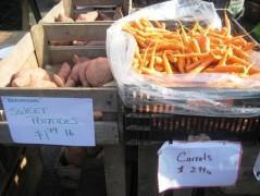 Sweet Potatoes & Carrots