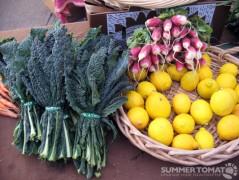 Kale, Radishes & Lemons