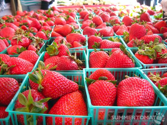 Dirty Girl Strawberries