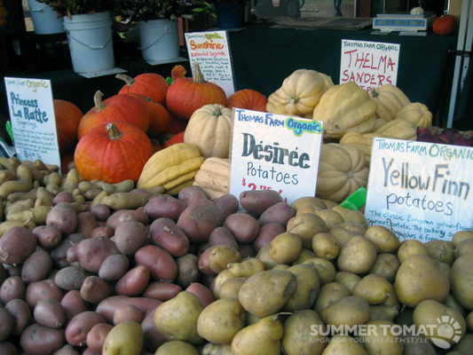 Potatoes and Winter Squash