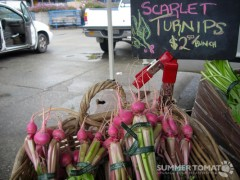 Scarlet Turnips