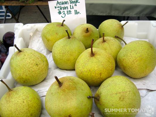 Asian pears health