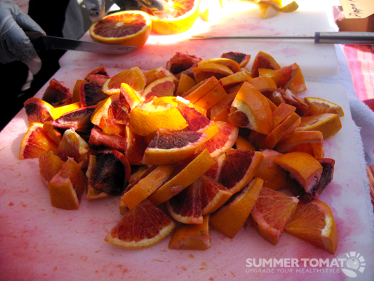 Pile Of Blood Orange Slices