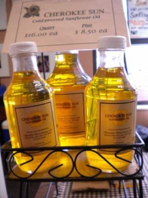 Cherokee Farms Sunflower Oil