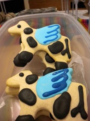 Gyspy Travelin' Market Winged Cow