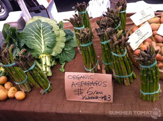 Collards, Potatoes & Asparagus