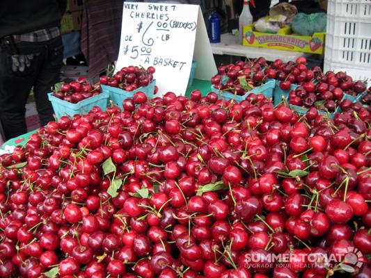 Mountain of Cherries