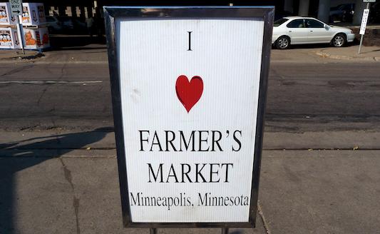 I <3 Farmers Markets