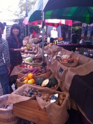 Farmers Market Stall