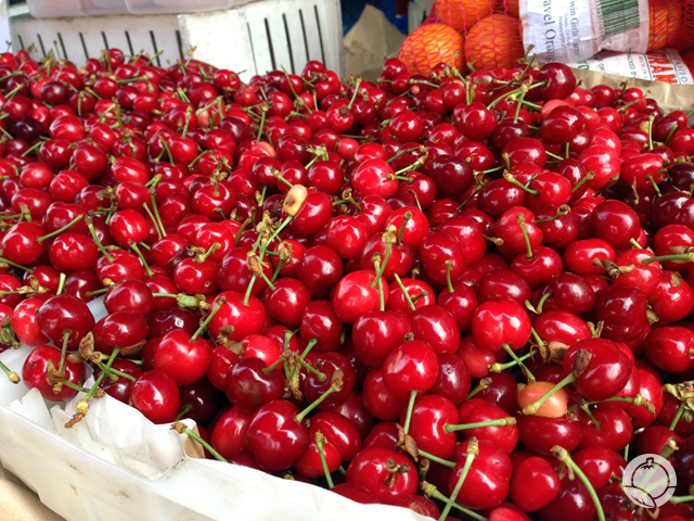 Early Burlatt Cherries