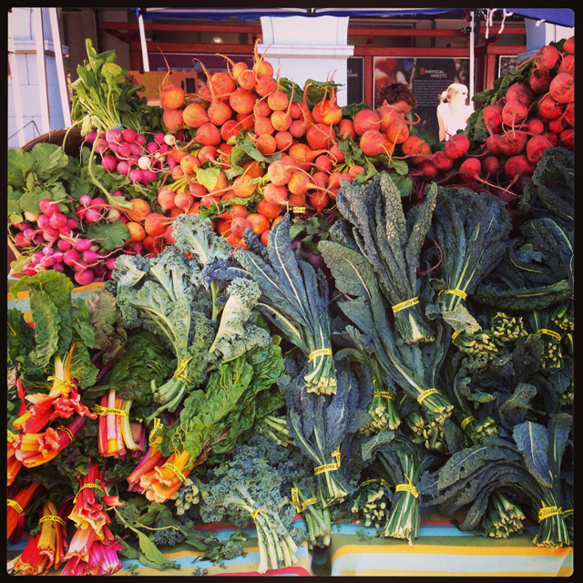 Shopping at the farmers market is one of my most rewarding healthstyle habits