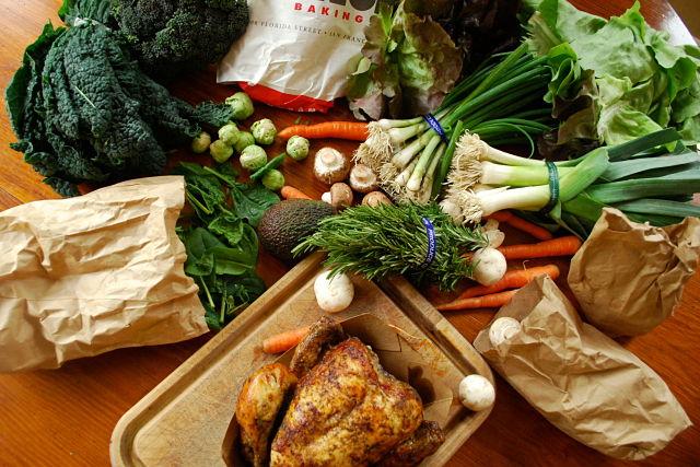Farmers Market Bounty & Quick Dinner