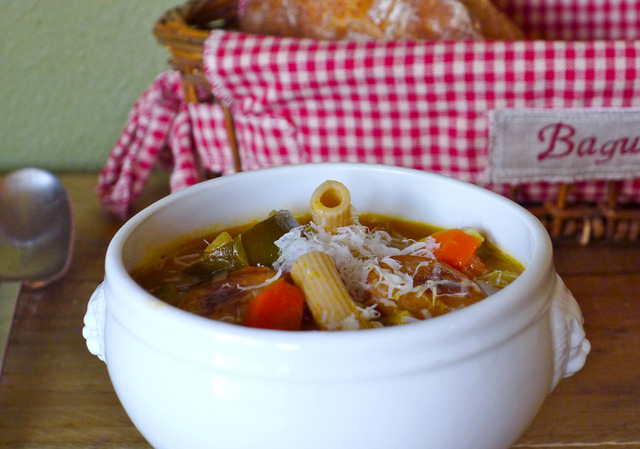 8-Vegetable Minestrone