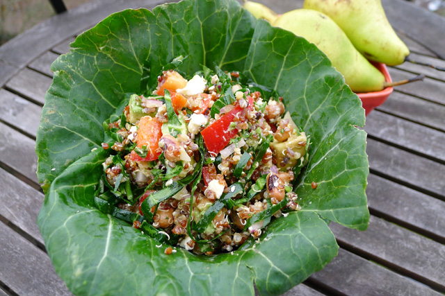 Black Eyed Pea Summer Salad Recipe — Dishmaps