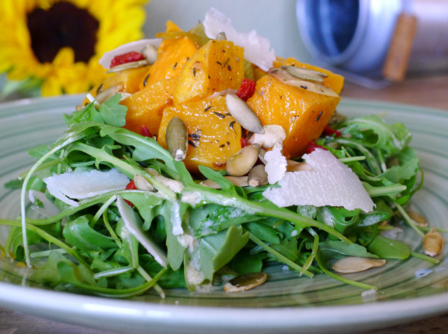 Butternut Warm Winter Salad