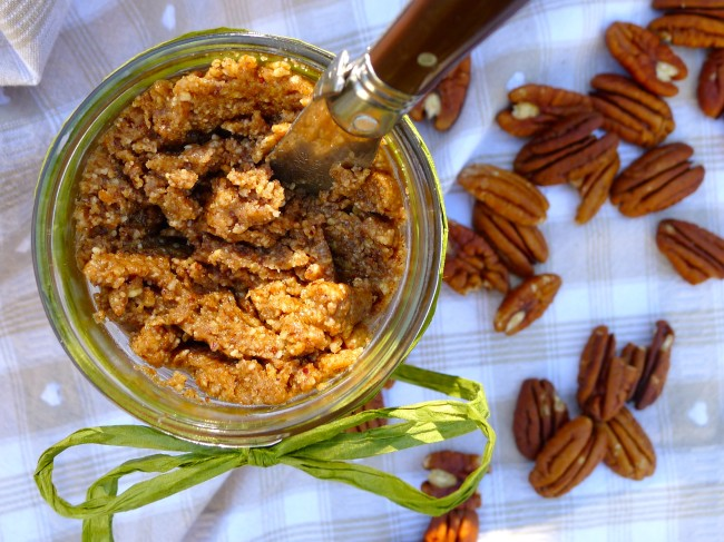 maple pecan nut butter