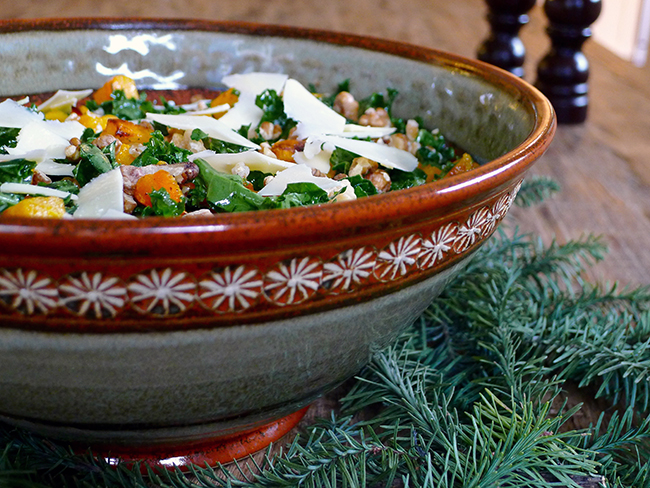 Foodist Approved: Roasted Butternut Squash, Farro and Kale Salad ...